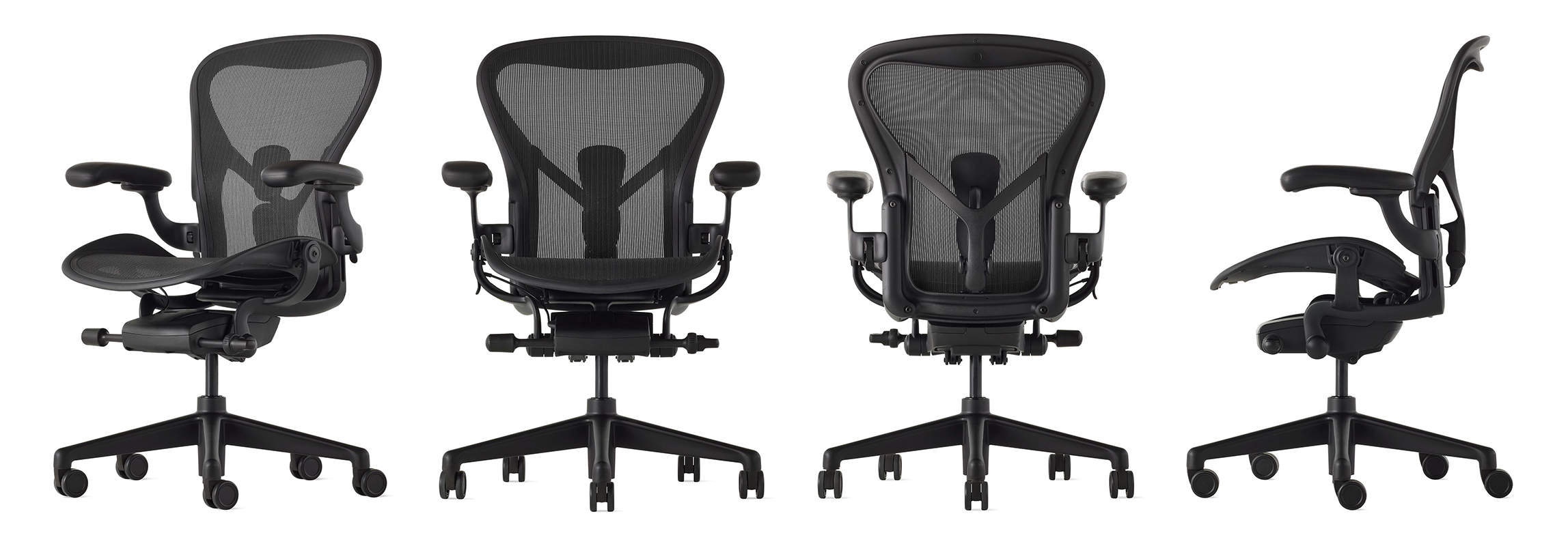 Image 2 for AERON REMASTERED ONYX BY HERMAN MILLER