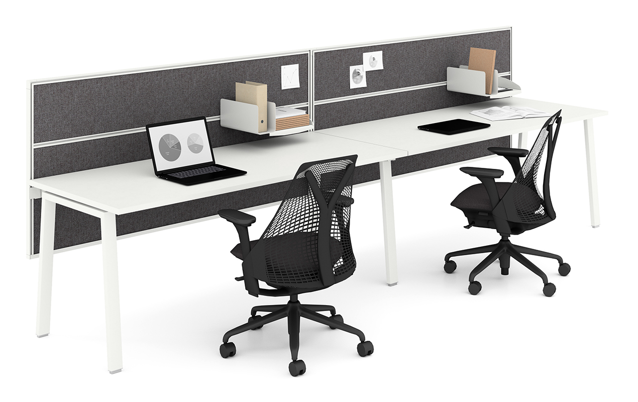 Image 2 for IMAGINE BY HERMAN MILLER: SIDE-SIDE WHITE