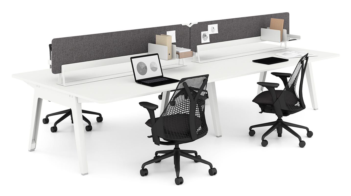 Image 2 for OPTIMIS BY HERMAN MILLER: BACK-BACK WHITE
