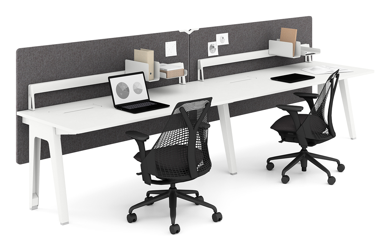 Image 2 for OPTIMIS BY HERMAN MILLER: SIDE-SIDE WHITE
