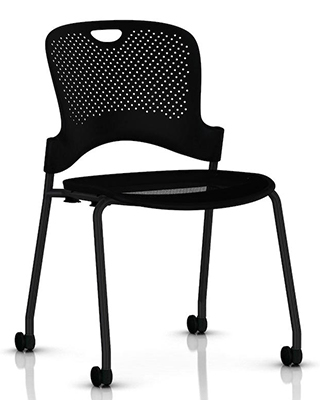 CAPER FLEXNET STACKING CHAIR BY HM