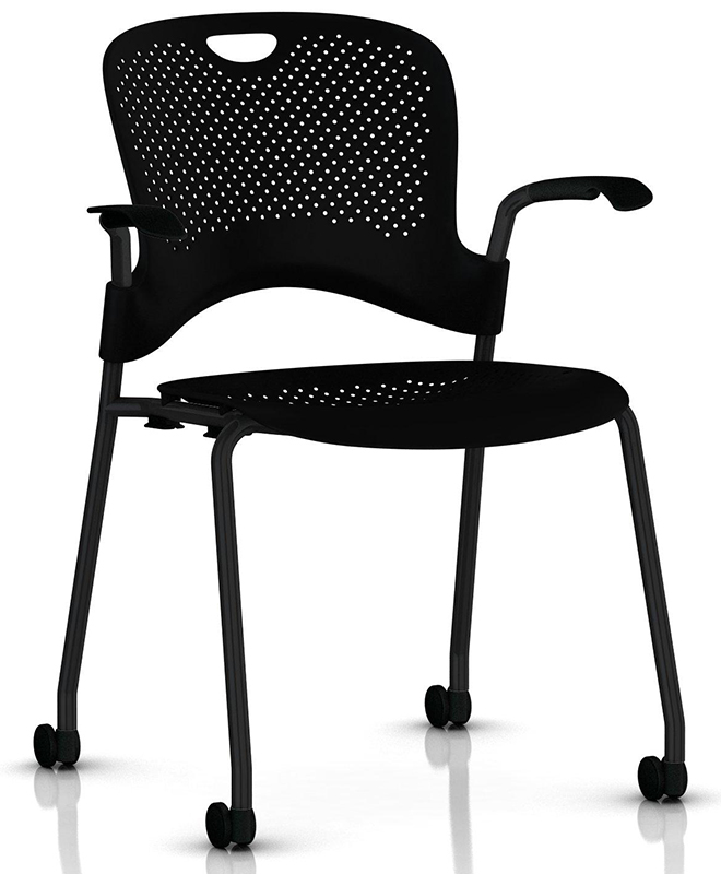 Image 2 for CAPER STACKING CHAIR WITH ARMS