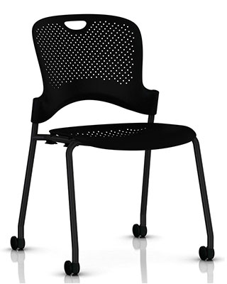 CAPER STACKING CHAIR NO ARMS