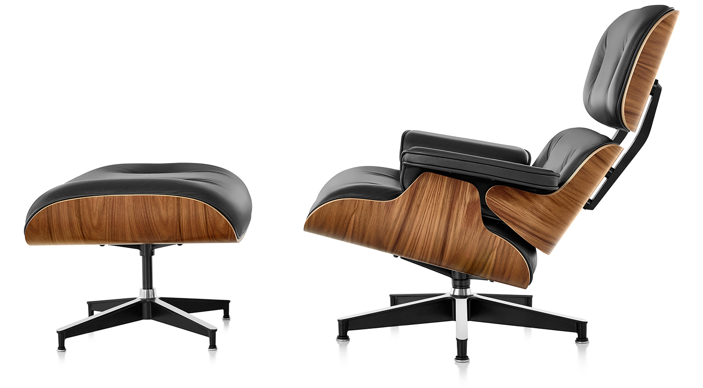 Image 3 for EAMES LOUNGE & OTTOMAN