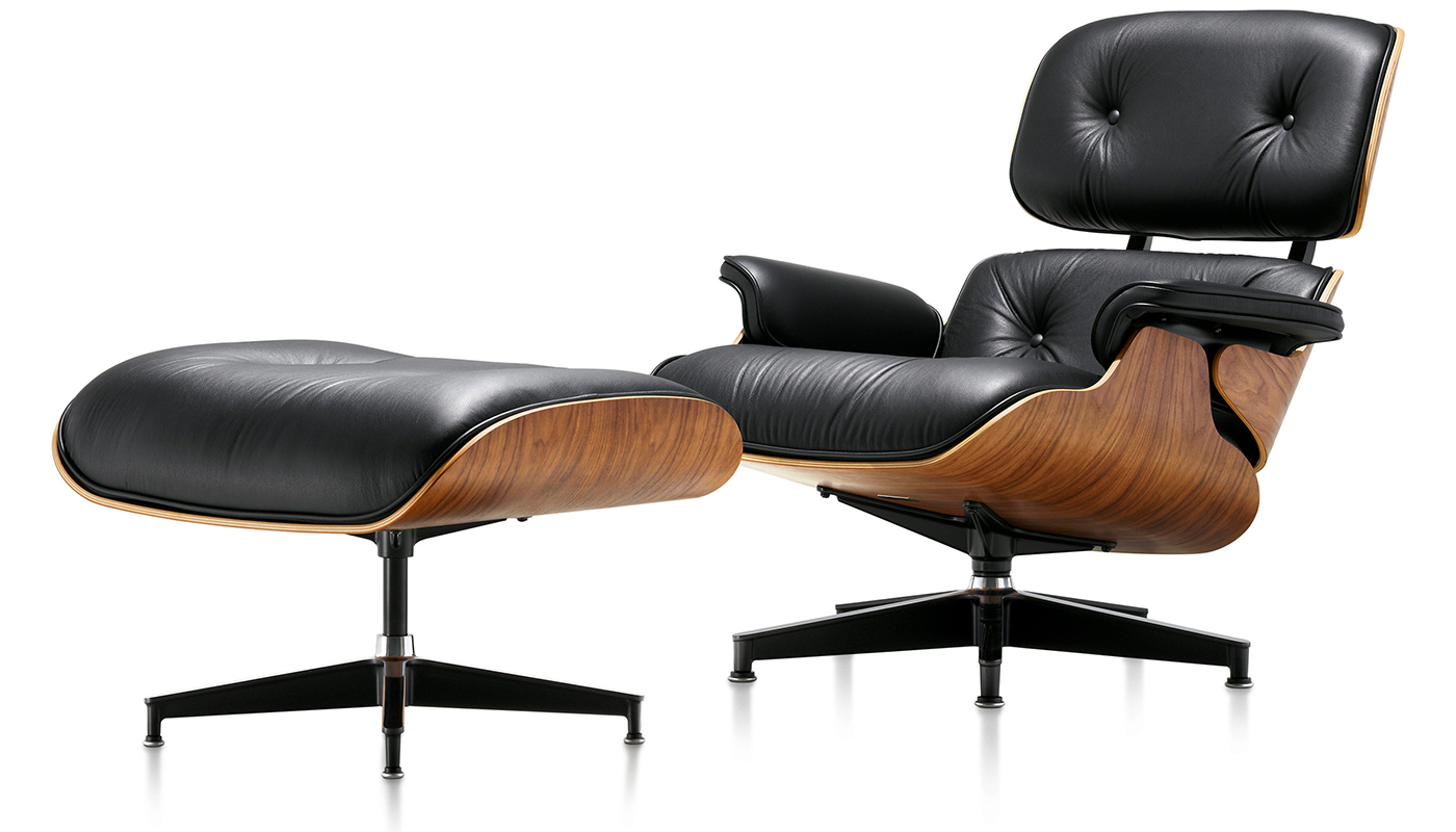 Image 2 for EAMES LOUNGE & OTTOMAN