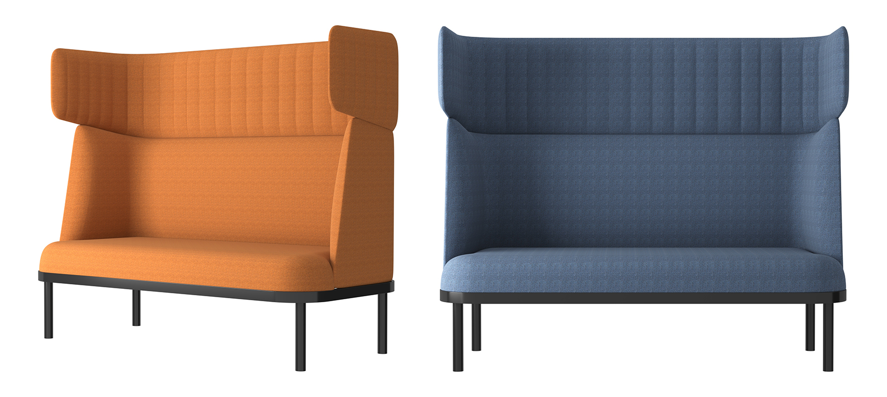 Image 2 for SHEEP DOUBLE SOFA BOOTH BY ARCHINI