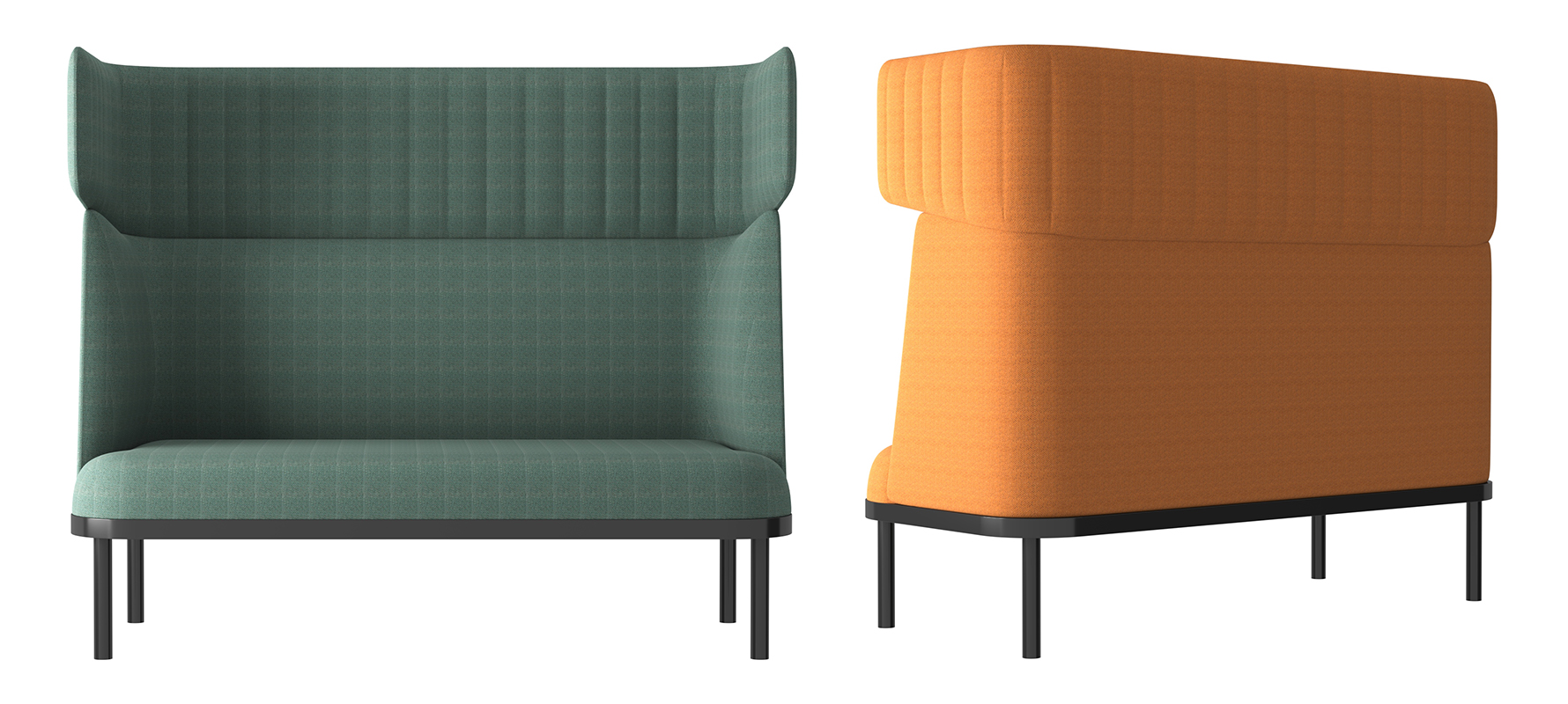 Image 3 for SHEEP DOUBLE SOFA BOOTH BY ARCHINI